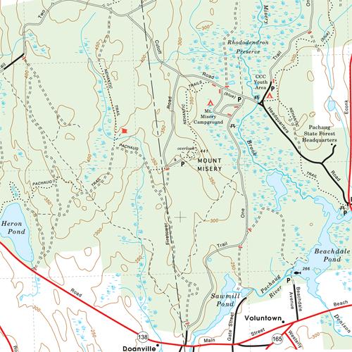 Pachaug-map
